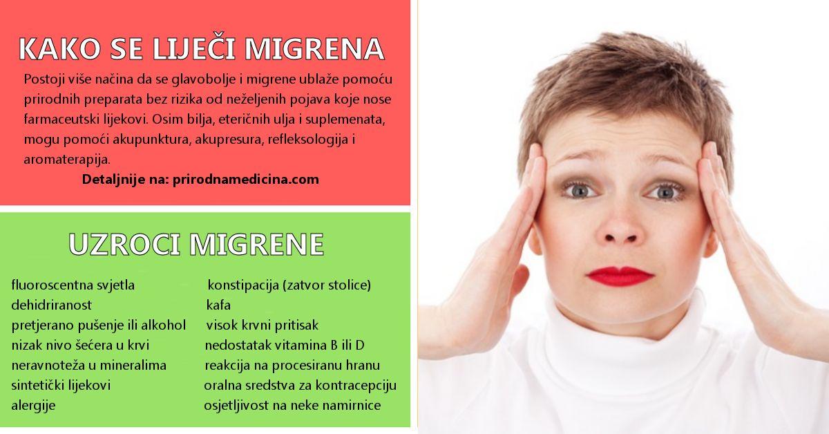 migrena liječenje